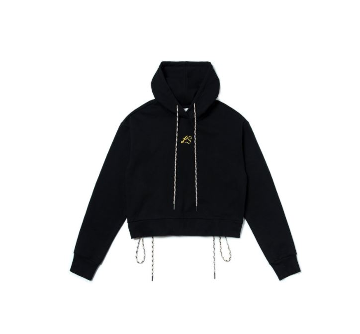NONA9ON X LISA EMBROIDERED HOODIE