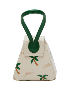 O!Oi X ATELIER PARK] PALM TREE HANDLE BAG _ivory