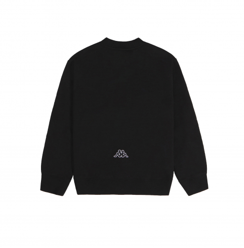 CHARMS X KAPPA BASIC LOGO SWEATSHIRT BLACK (CAM17MT13U84M35)