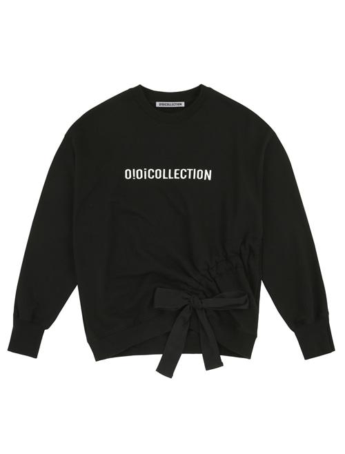 OIOI RIBBON SHIRRING JUMPER_black (OIO17MT04U89F45)